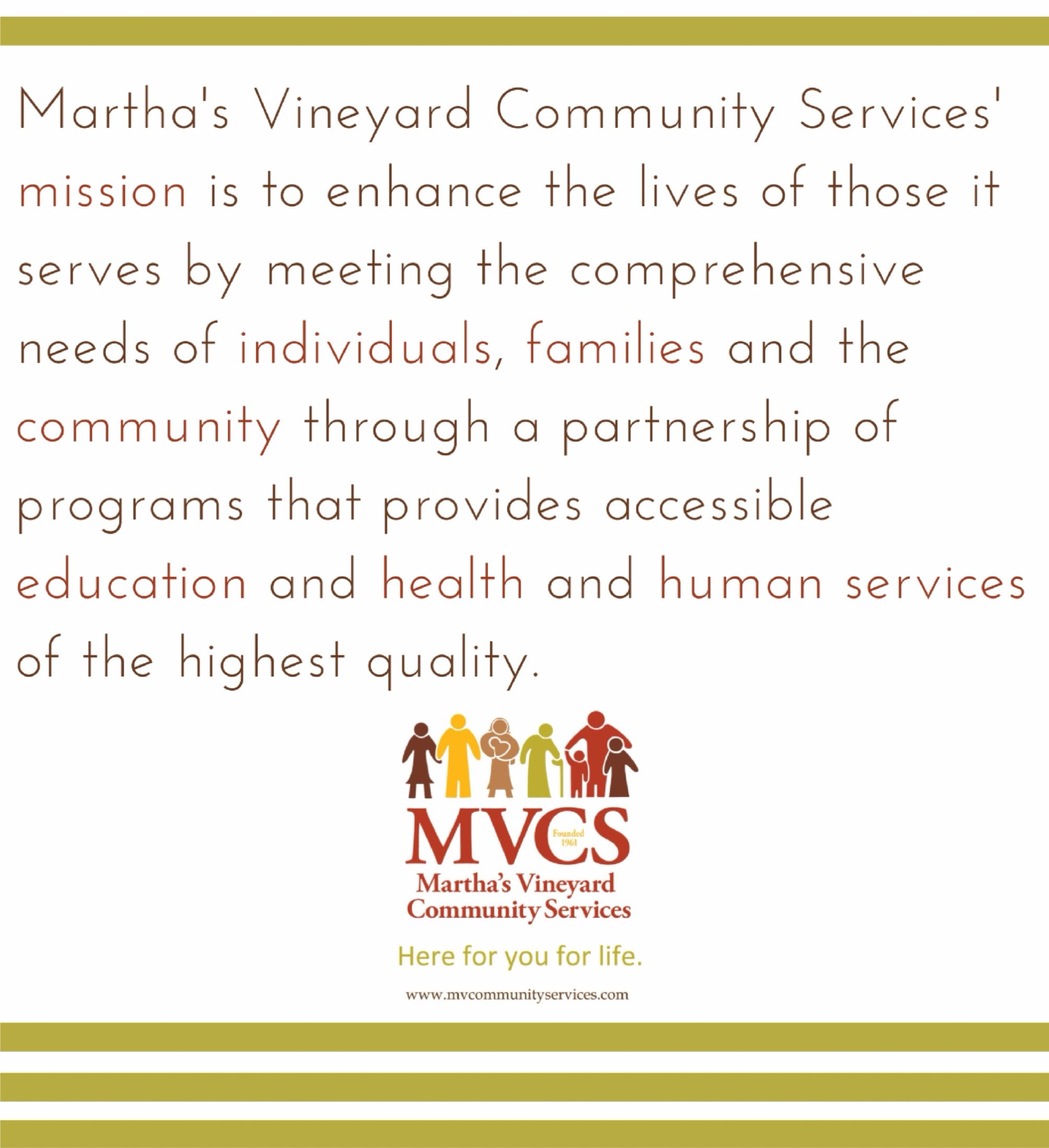 MVCS Mission: Here for you for Life