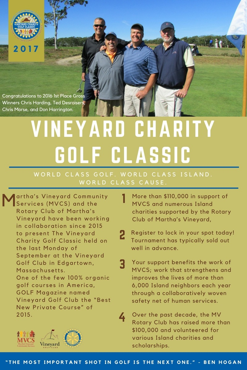 About the Vineyard Charity Golf Classic