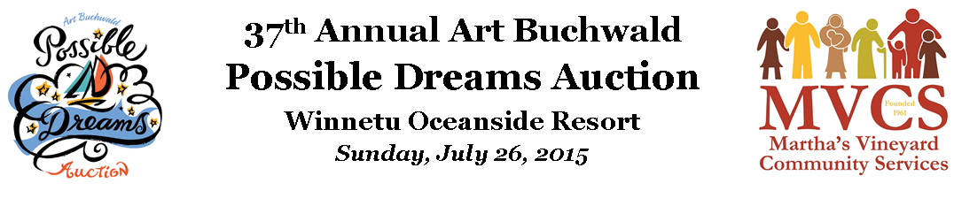 37th Annual Art Buchwald Possible Dreams Auction